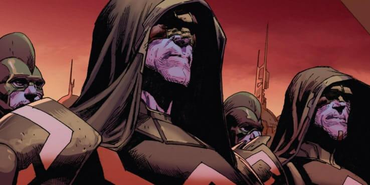 漫威漫畫中的克里人是誕生於復仇與死亡的好戰種族。