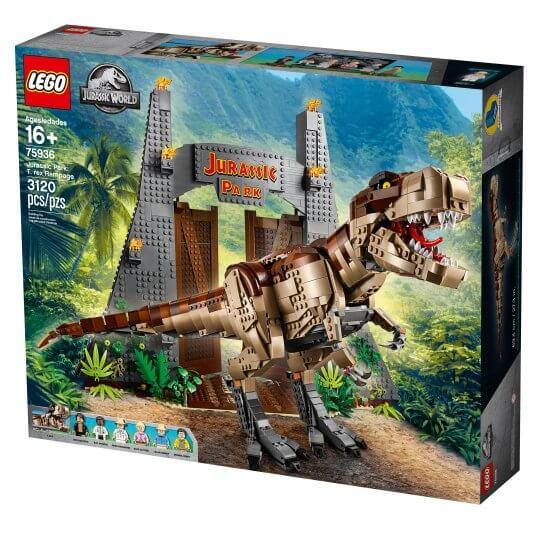 LEGO 75936 樂高 侏羅紀公園:霸王龍大爆走 Jurassic Park: T.Rex Rampage