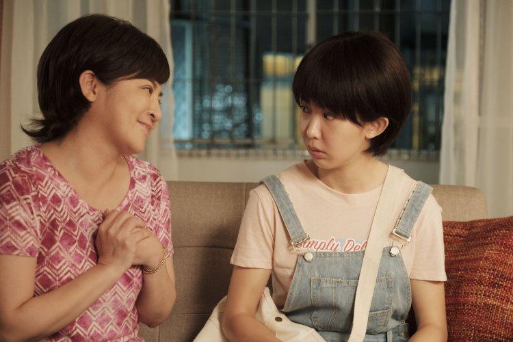 王彩樺與郭書瑤在影集《通靈少女》第二季中有母女對戲。