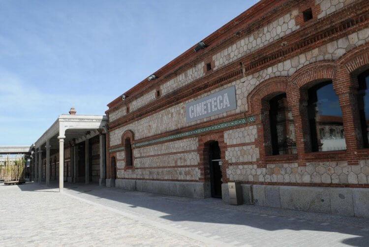 La Cineteca 老屠宰場改建的電影院。