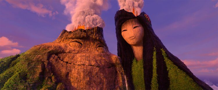 皮克斯短片《火山戀曲》(Lava)。