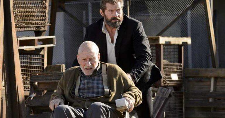 《羅根》電影中的金剛狼以及 X 教授。