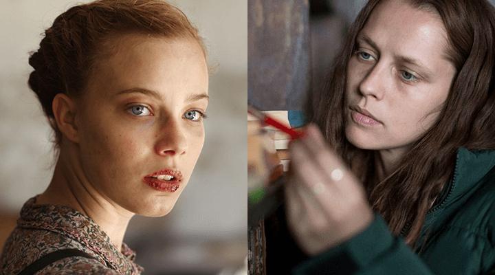 凱特蕭蘭 執導的兩部電影:左 :《 純真消逝的年代 》/ 右 :《 顫慄柏林 》 劇照 。
