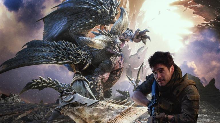 《魔物獵人》真人電影劇照曝光:男主角持現代軍武打龍?說好的大劍巨斧呢
