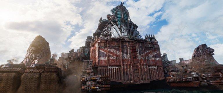 《移動城市:致命引擎》片中的移動城市個其來有自,圖為移動城市版的倫敦。