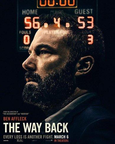 班艾佛列克與《會計師》導演再度合作,主演籃球電影《The Way Back》海報。