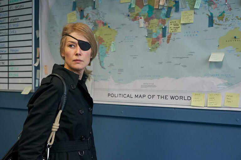由羅莎蒙派克飾演的《私人戰爭》瑪麗,揉合女性堅強與脆弱的一體兩面,表現的可圈可點。