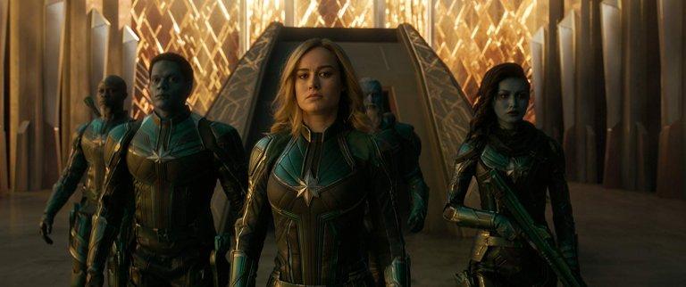 《驚奇隊長》片中,卡蘿丹佛斯曾是克里人星際武力部隊的一份子。