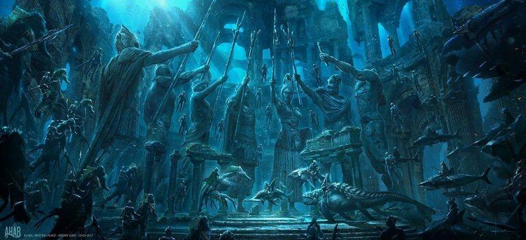 《水行俠》(Aquaman) 片中美麗的海洋世界務必透過 IMAX 影廳觀賞它的瑰麗。