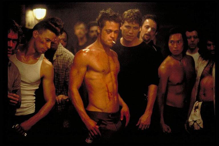 布萊德彼特-愛德華紐頓:鬥陣俱樂部-Fight_Club-曾遭觀眾-噓爆