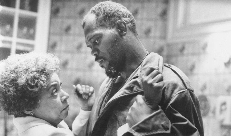 《叢林熱》(Jungle Fever) 中的山繆傑克森 (Samuel L. Jackson)