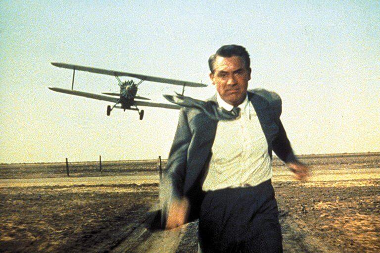 驚悚大師希區考克最佳代表作之一,1959 年電影《北西北》。