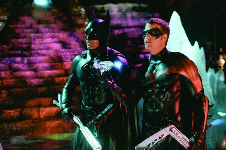 喬治克隆尼 (George Clooney) 演出《蝙蝠俠4:急凍人》(Batman & Robin) 。