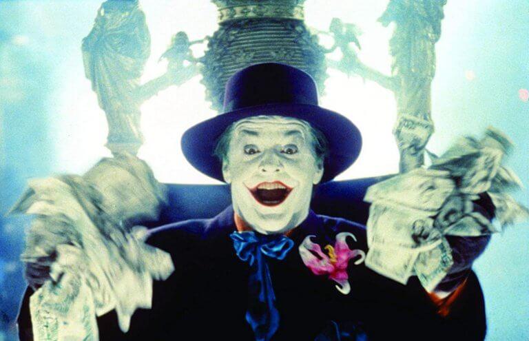 傑克尼克遜飾演的小丑