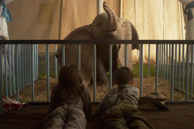 迪士尼同名動畫改編,真人版《小飛象》(Dambo) 電影劇照。