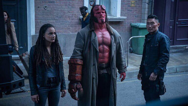《地獄怪客:血后的崛起》釋出新劇照 地獄男爵大衛哈伯表示:我完全沒有模仿舊版的打算