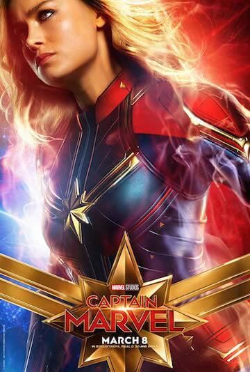 漫威電影宇宙的首部女性為主導的超級英雄電影《驚奇隊長》。