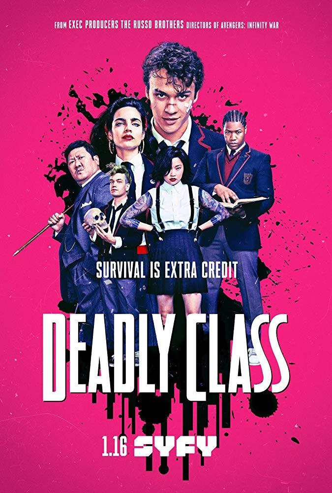 《復仇者聯盟 》班尼迪特王也有參與Deadly Class殺手一班演出