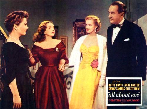 1950年由 20 世紀福斯推出的《彗星美人》囊括包含奧斯卡「最佳影片」等多項大獎。
