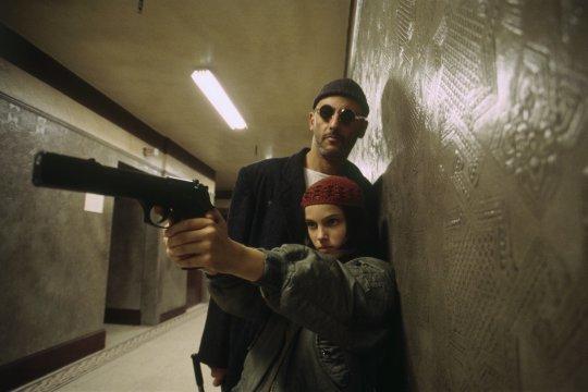 《終極追殺令》(Leon) 劇照。