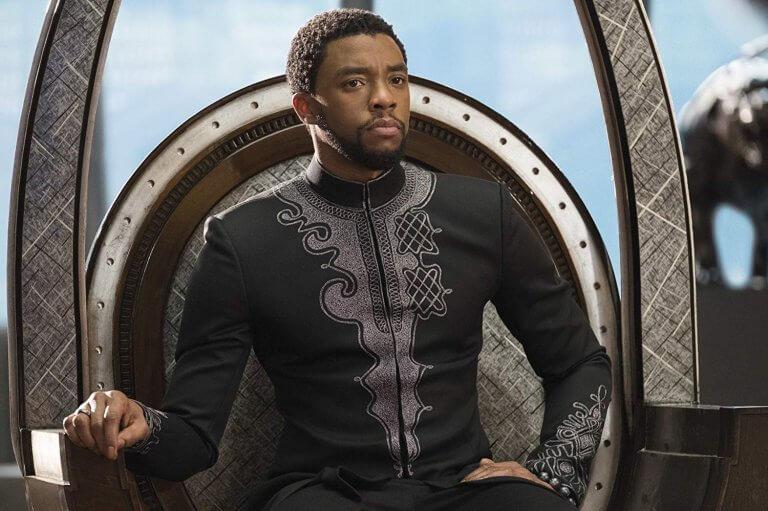 《黑豹》中由主角帝查拉經歷重重考驗,真正的成為瓦干達之王。