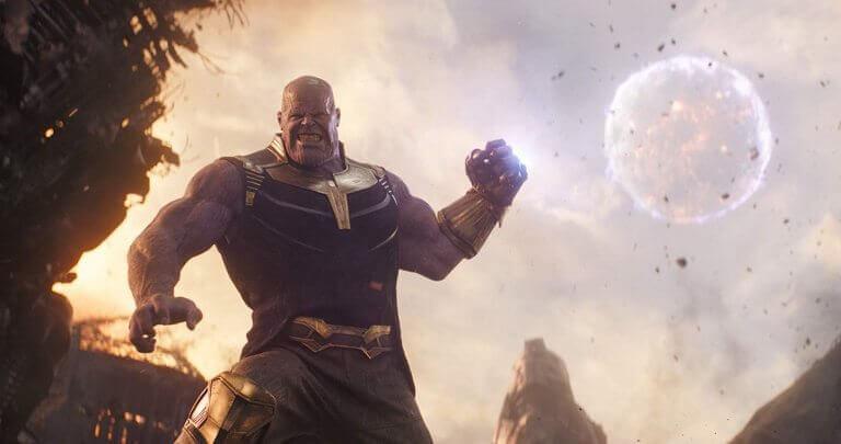 漫威工作室 2018 年超級英雄電影《復仇者聯盟:無限之戰》。