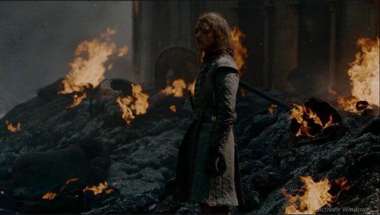 《冰與火之歌:權力遊戲》(Game of Thrones) 第八季。