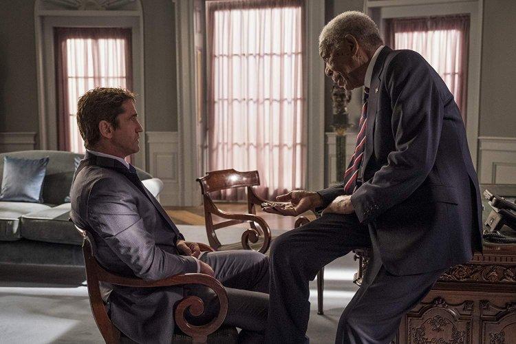 傑瑞德巴特勒與摩根費里曼在《全面攻佔 3:天使救援》中再演最強特勤與最高元首(原本是副總統)。