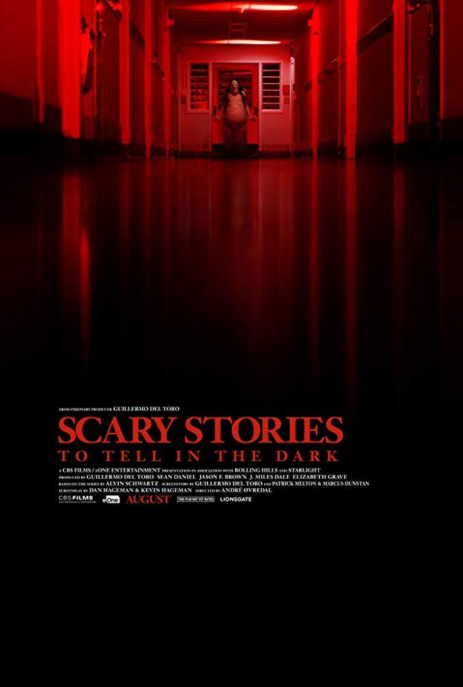 《在黑暗中說的鬼故事》電影海報。
