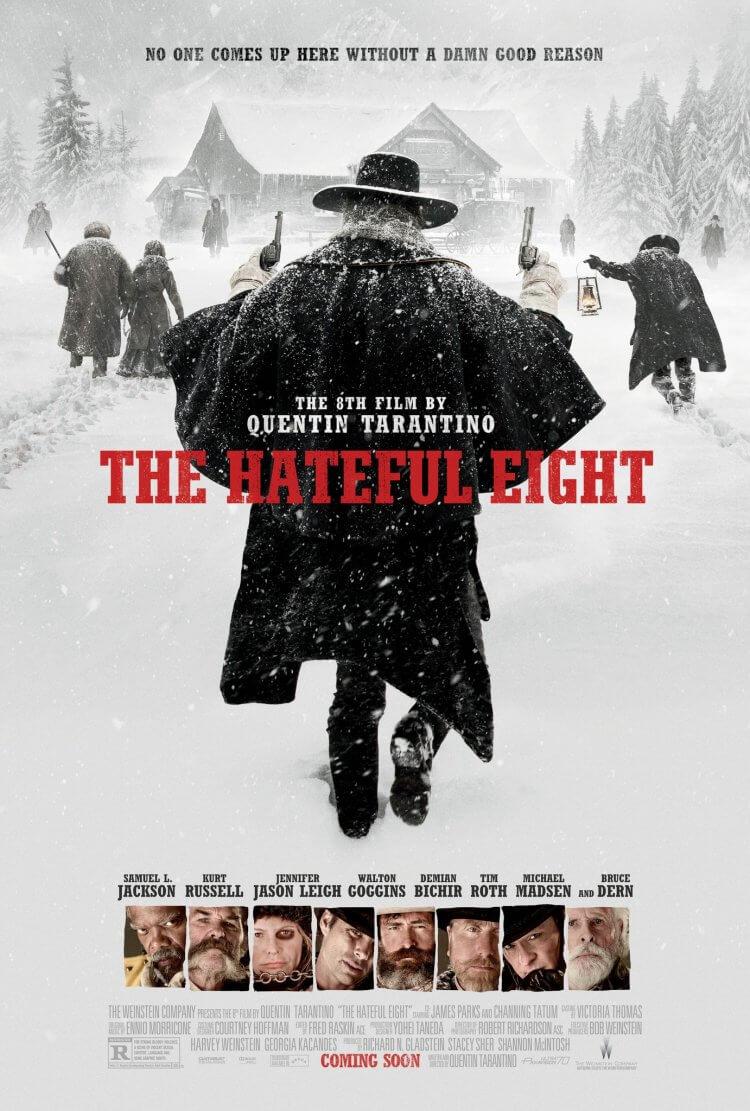 昆汀塔倫提諾電影《八惡人》海報,看的出誰會是男主角嗎?