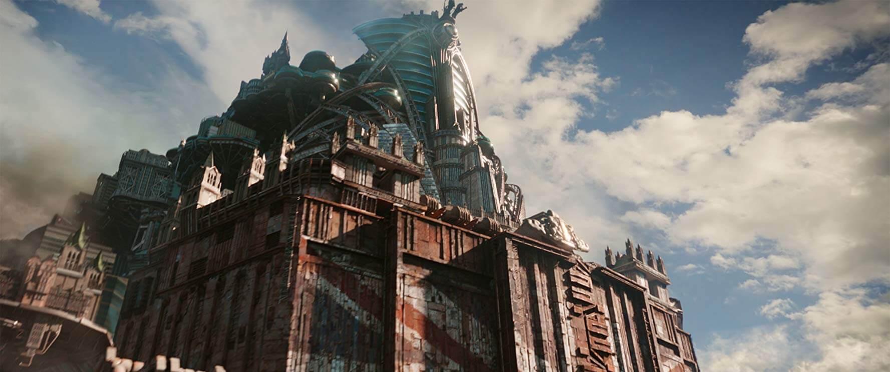 《移動城市:致命引擎》中宛如變形金剛般的移動城市「倫敦城」,令人不禁聯想《霍爾的移動城堡》。
