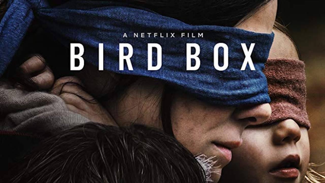 蘇珊娜畢爾執導,珊卓布拉克主演的驚悚片:《蒙上你的眼》(Bird Box)。