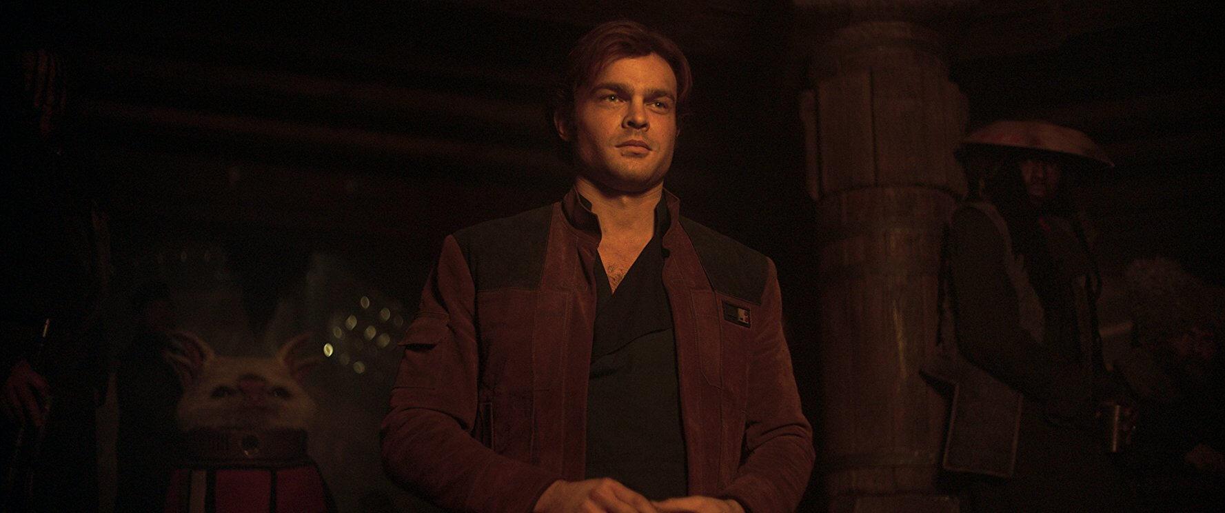 艾登艾倫瑞克 索飾演的韓索羅,成功走出別於福伯版本的個人風味。