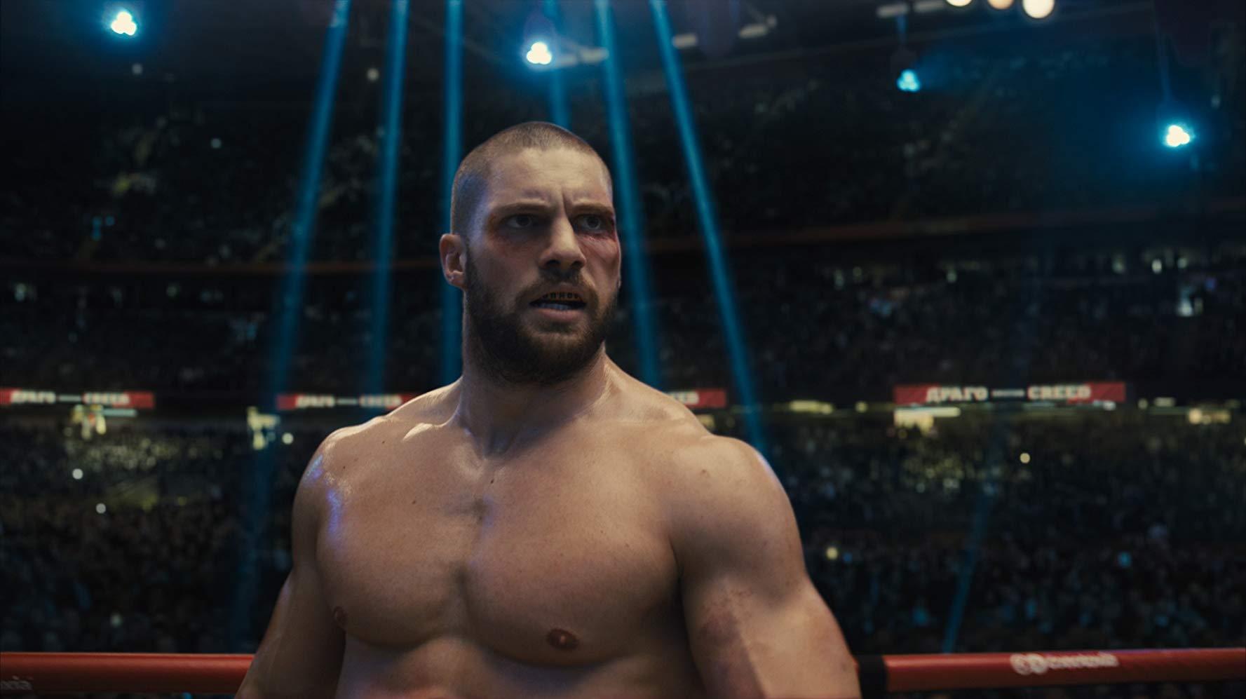 《金牌拳手:父仇》中,由佛洛里安蒙特亞努所飾演的維克多德拉戈。
