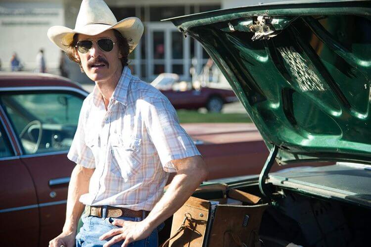 《藥命俱樂部》 (Dallas Buyers Club) 中的馬修麥康納 (Matthew McConaughey)