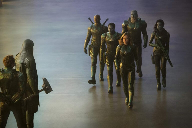《驚奇隊長》預告片段中可看到控訴者羅南與卡蘿丹佛斯碰面的場景,但疑似成了正片的刪減片段。