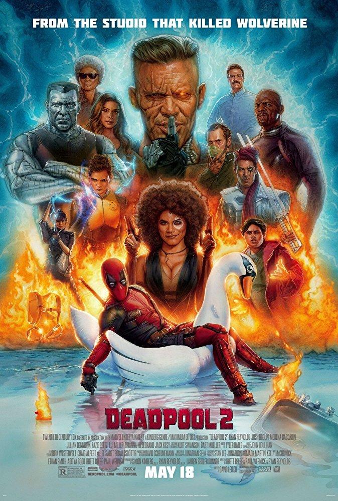 至賤 再臨 《 死侍2 》 電影 海報