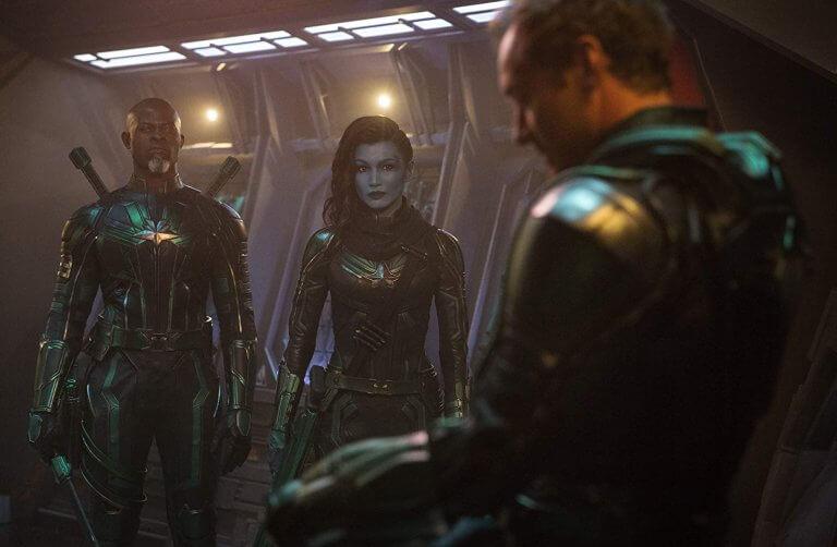 《驚奇隊長》電影中的克里人部隊。