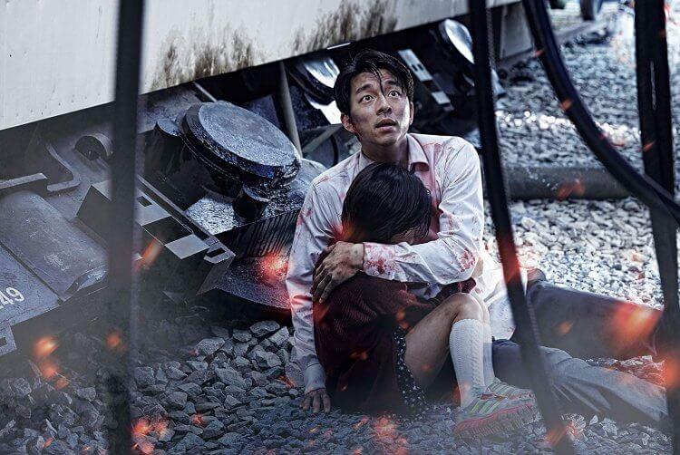 2016 年的話題韓國喪屍電影《屍速列車》劇照。