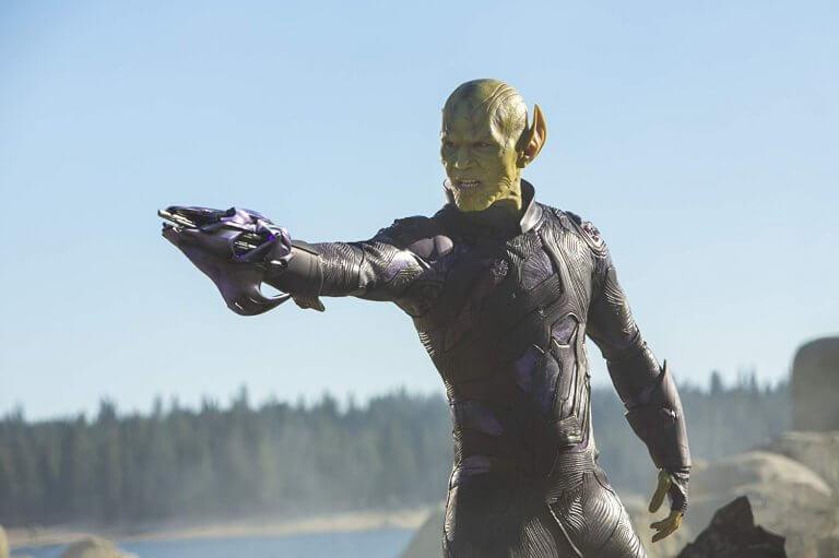 《驚奇隊長》片中的史克魯爾人形象。