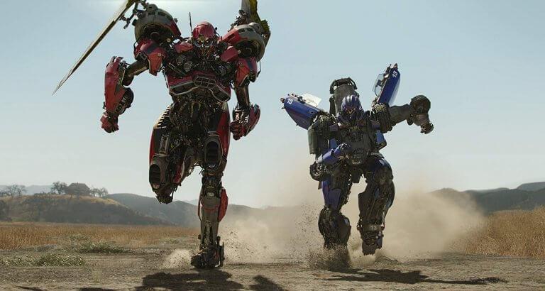 《大黃蜂》電影中的反派角色:「反彈球」(Dropkick) 與「粉碎」(Shatter) 。