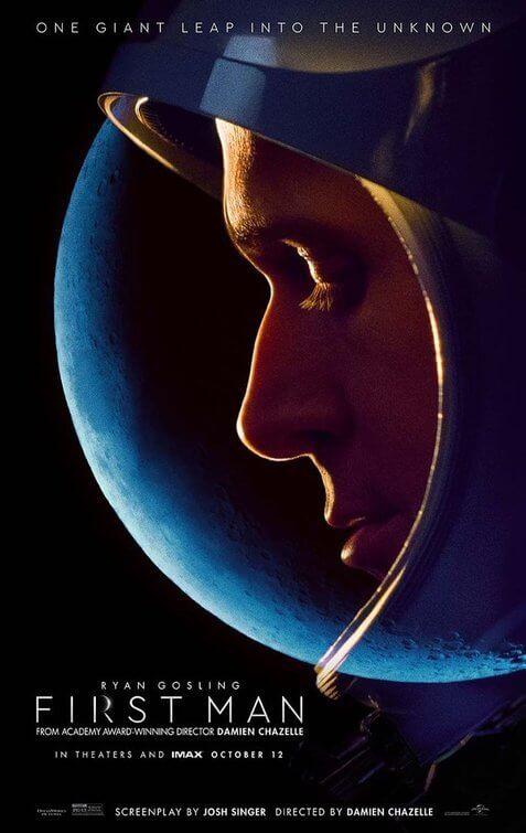 《 登月先鋒 》海報 。