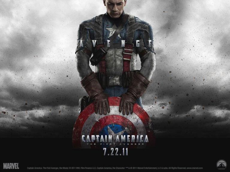 克里斯伊凡 (Chris Evans) 飾演的漫威超級英雄「美國隊長」(Captain America),個人獨立電影於 2011 年推出,深受全球粉絲喜愛。