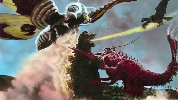 《哥吉拉 埃比拉 魔斯拉 南海的大決鬥》劇照。