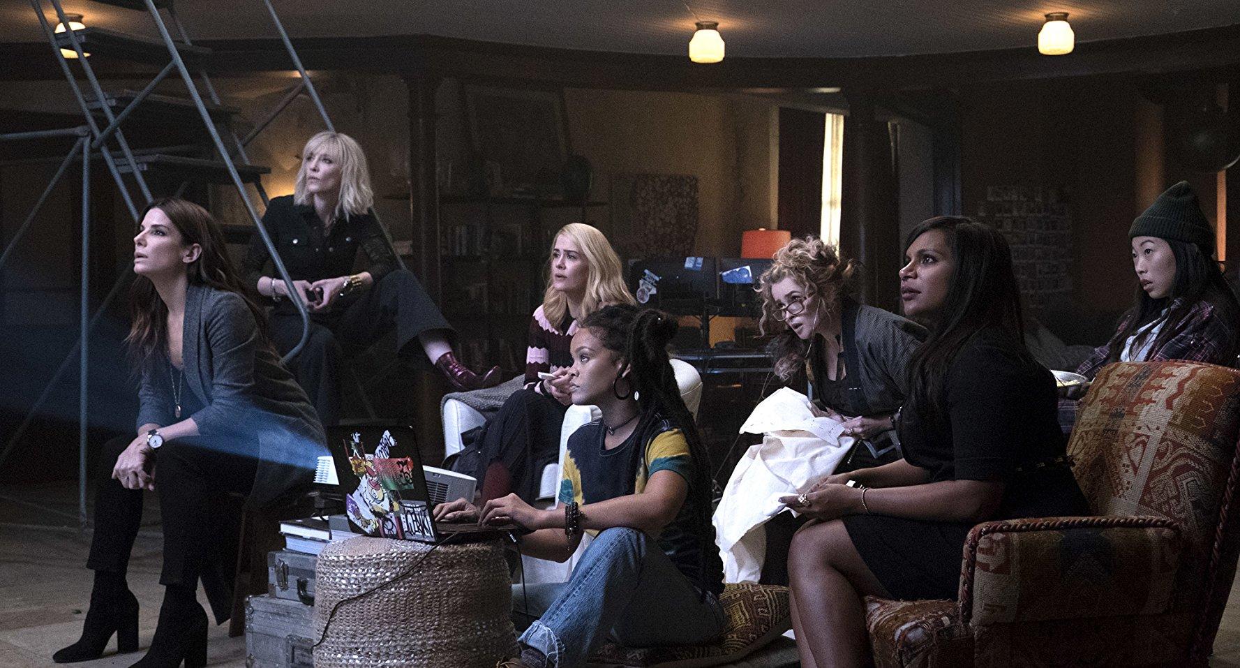 史蒂芬索德柏 《 瞞天過海 : 八面玲瓏 》的問世,無疑是打算搭上這波 好萊塢 影壇 「 女性當道 」的話題。
