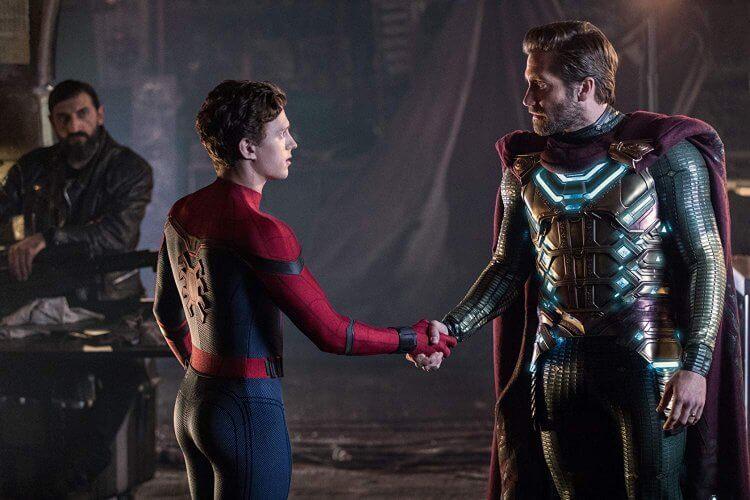 《蜘蛛人:離家日》(Spider Man : Far From Home)劇照。