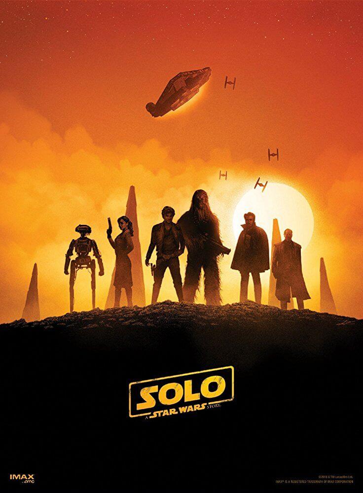 《 星際大戰外傳 : 韓索羅 》電影 海報