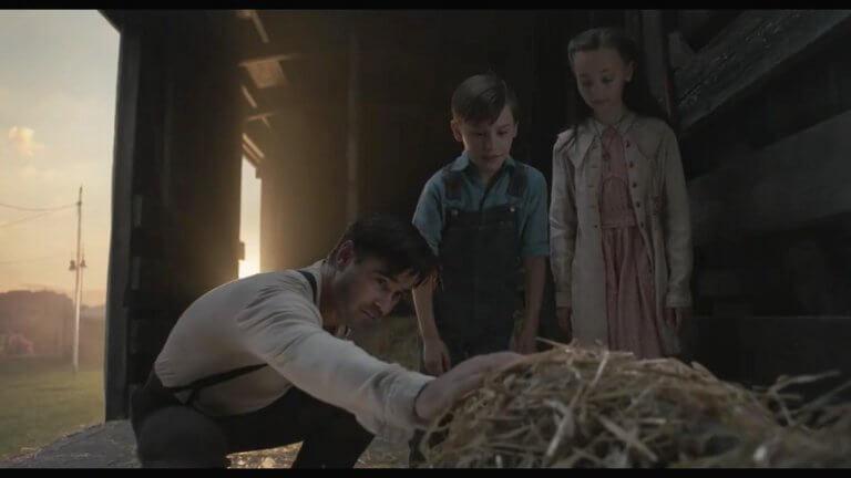 柯林法洛 (Colin Farrell) 終於和偶像提姆波頓 (Tim Burton) 於《小飛象》合作。