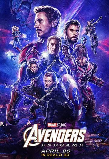 《復仇者聯盟:終局之戰》電影海報,即將於全球陸續上映。