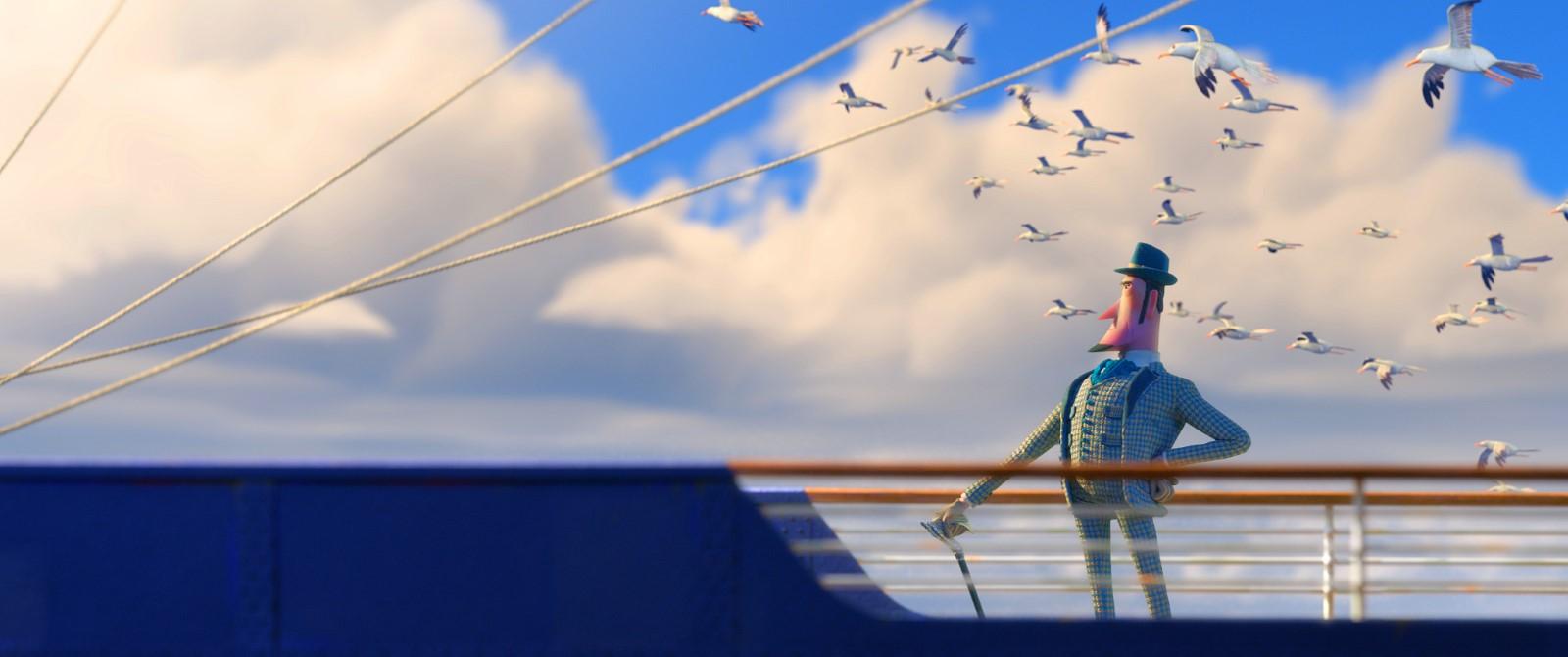 休傑克曼配音演出動畫電影《大冒險家》。